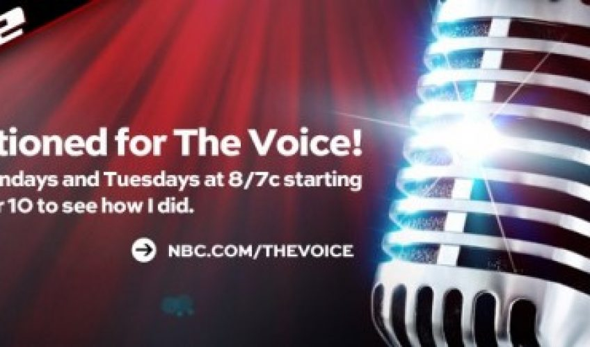 W4WN RADIO HOST MICHAELA PAIGE ON NBC'S THE VOICE