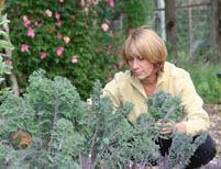 jesse in the garden