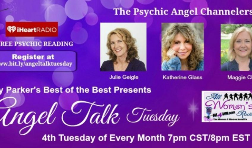 "8pm EST 4/28 Angel Talk Tuesday ""Spiritual Cleansing"""