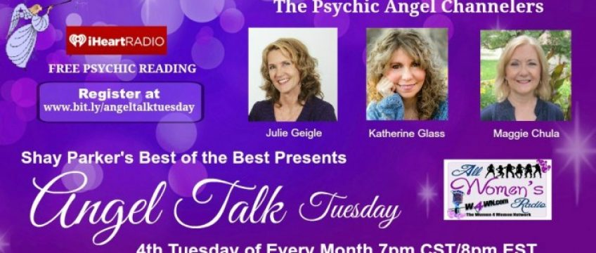 "New!  Jan 27th ""Angel Talk Tuesday"" 7pm CST/8pm EST"