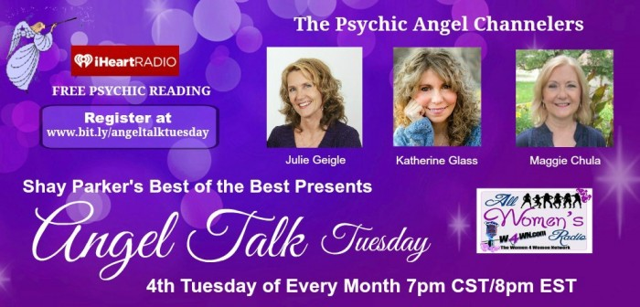 Angel Talk Tuesday, May 26th 8pm CST