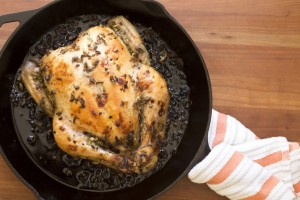 Check out Chef Ashton Keefe's Roast Chicken with Ramps