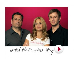 Mailet Lopez and her partners at Squeaky media