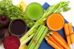 FRUITS AND VEGGIES AND JUICES