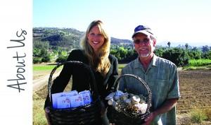 Sandra Carter with Mycologist Steven Farrar (www.mushroommatrix.com)