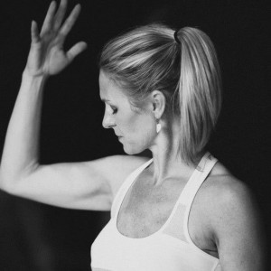 """Robyn """"Post double mastectomy with expanders and unable to lift my arms above my head. a different kind of strength from the inside."""""""