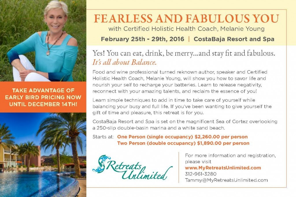 A few spots still available. Early bird pricing through Jan 15