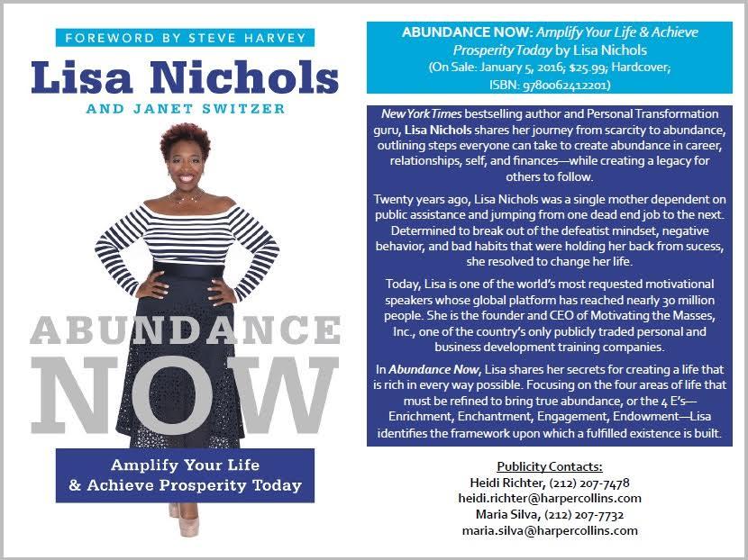 lisa nichols book cover