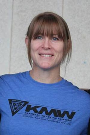 Women's Seld Defense Expert and Black Belt Kelly Campbell, KRAV Magna